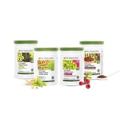 Nutrilite Hi-Protein All Plant / Berry / Green Tea / Chocolate