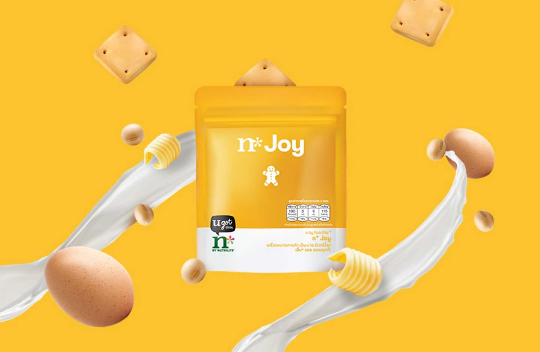 n* Joy พลังล้นๆ โปรตีนเน้นๆ